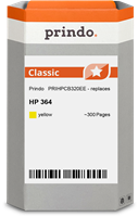Prindo Tintenpatrone Gelb PRIHPCB320EE 364 ~300 Seiten Prindo CLASSIC: DIE Alternative, Top Qualität