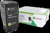 Lexmark Toner Gelb 74C2HYE ~12000 Seiten Corporate Toner