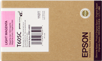 Epson Tintenpatrone magenta (hell) C13T605C00 T605C00 110ml
