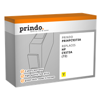 Prindo Tintenpatrone Gelb PRIHPC9373A 72 130ml Prindo CLASSIC: DIE Alternative, Top Qualität, volle