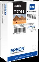 Epson Tintenpatrone schwarz C13T70114010 T7011 ~3400 Seiten XXL