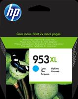 HP Tintenpatrone Cyan F6U16AE 953 XL ~1600 Seiten