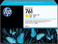 HP Tintenpatrone gelb CM992A 761 400ml