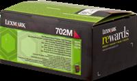 Lexmark Toner magenta 70C20M0 702M ~1000 Seiten Rückgabe-Druckkassette