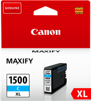 Canon Tintenpatrone cyan PGI-1500c XL 9193B001 ~1020 Seiten 12ml