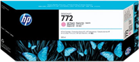HP Tintenpatrone magenta (hell) CN631A 772 300ml pigmentierte HP Vivera Tinte
