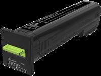 Lexmark Toner Schwarz 72K2XK0 ~33000 Seiten Rückgabe-Druckkassette, extra hohe Kapazität