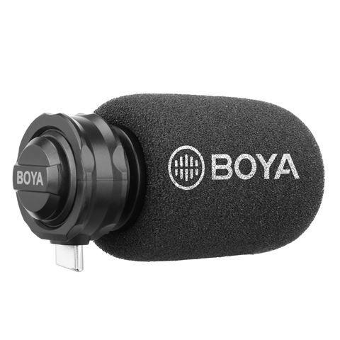 Boya Digitales Shotgun Mikrofon BY-DM100 für Android USB-C