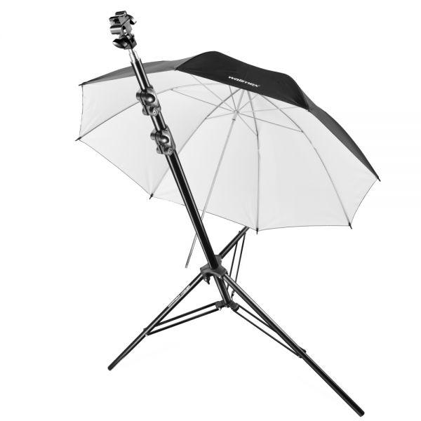 Miglior prezzo walimex pro system flash bracket+ tripod+ umbrella -