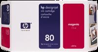HP Tintenpatrone magenta C4847A 80 350ml