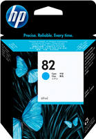 HP Tintenpatrone cyan C4911A 82 69ml