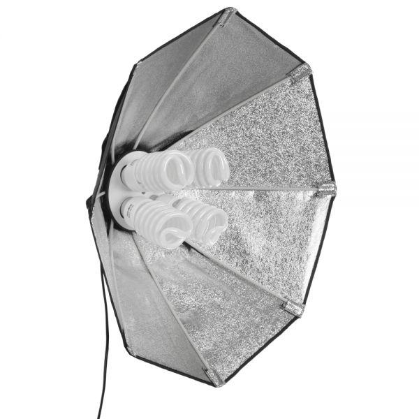 Walimex pro Daylight 1000 Octagon Softbox ? 60cm, 4x50W