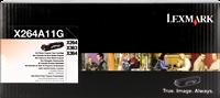 Lexmark Toner schwarz X264A11G ~3500 Seiten