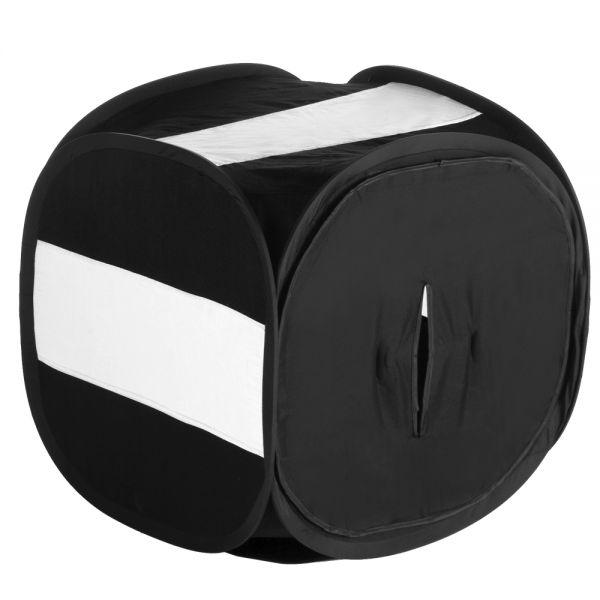 Miglior prezzo walimex Pop-Up Light Cube 60x60x60cm nero -
