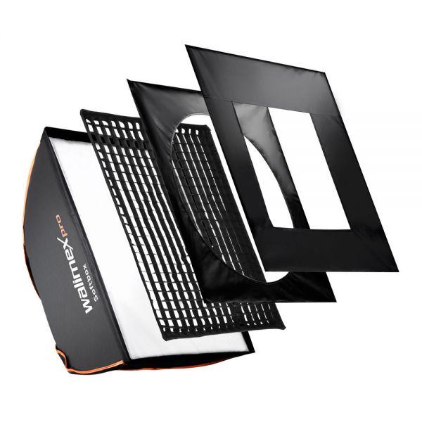 Walimex pro Softbox PLUS OL 50x70cm Multiblitz P