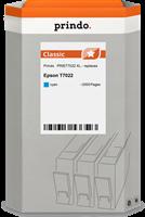 Prindo Tintenpatrone Cyan PRIET7022 T7022 ~2000 Seiten Prindo CLASSIC: DIE Alternative, Top Qualität