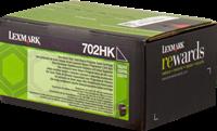 Lexmark Toner schwarz 70C2HK0 702HK ~4000 Seiten Rückgabe-Druckkassette