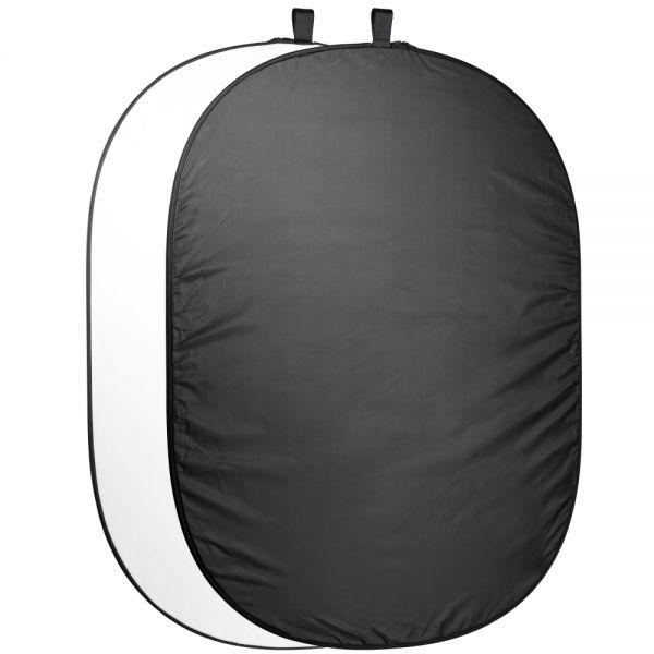 Miglior prezzo Foldable Background 200 x 230 black/white -