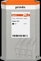 Prindo Tintenpatrone Schwarz PRIET03R140 102 127ml Prindo BASIC: DIE preiswerte Alternative, Top Qua