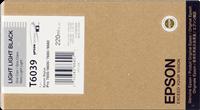 Epson Tintenpatrone light light black C13T603900 T6039 220ml