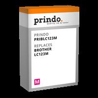Prindo Tintenpatrone Magenta PRIBLC123M LC-123 ~600 Seiten Prindo CLASSIC: DIE Alternative, Top Qual