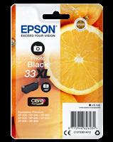 Epson Tintenpatrone schwarz (Foto) C13T33614012 T3361 ~400 Seiten C13T33614010