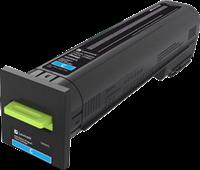 Lexmark Toner Cyan 72K20C0 ~8000 Seiten Rückgabe-Druckkassette