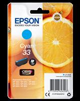 Epson Tintenpatrone cyan C13T33424012 T3342 ~300 Seiten 4.5ml
