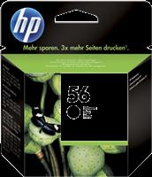 HP Tintenpatrone schwarz C6656AE 56 ~520 Seiten 19ml