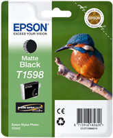 Epson Tintenpatrone schwarz (matt) C13T15984010 T1598 17ml