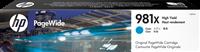HP Tintenpatrone Cyan L0R09A 981X ~10000 Seiten