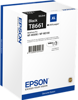 Epson Tintenpatrone schwarz C13T866140 T8661 ~2500 Seiten 55.8ml XL