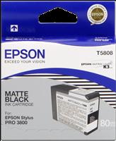Epson Tintenpatrone schwarz (matt) C13T580800 T5808 80ml