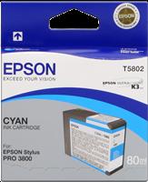 Epson Tintenpatrone cyan C13T580200 T5802 80ml