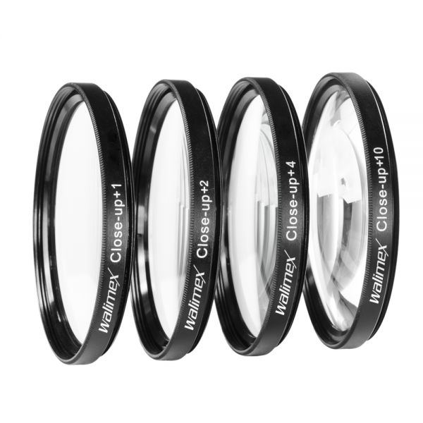 Miglior prezzo walimex Close-up Macro Lens Set 55 mm -