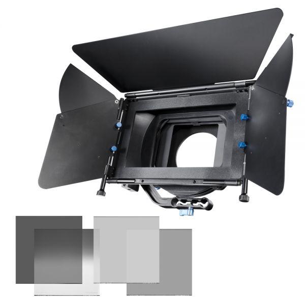 Miglior prezzo walimex pro Matte Box Director II+gray filters -