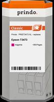 Prindo Tintenpatrone Magenta PRIET3473 T3473 ~950 Seiten Prindo CLASSIC: DIE Alternative, Top Qualit