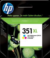 HP Tintenpatrone color CB338EE 351 XL ~580 Seiten