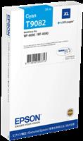 Epson Tintenpatrone Cyan C13T908240 T9082 ~4000 Seiten 39ml XL