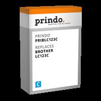 Prindo Tintenpatrone Cyan PRIBLC123C LC-123 ~600 Seiten Prindo CLASSIC: DIE Alternative, Top Qualitä