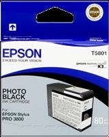Epson Tintenpatrone schwarz (foto) C13T580100 T5801 80ml