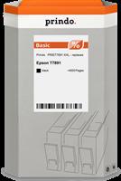 Prindo Tintenpatrone Schwarz PRIET7891 XXL ~4000 Seiten Prindo BASIC: DIE preiswerte Alternative, To