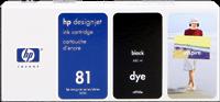 HP Tintenpatrone schwarz C4930A 81 680ml