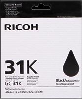 Ricoh Tintenpatrone schwarz 405688 GC31K