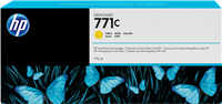 HP Tintenpatrone gelb B6Y10A 771C 775ml