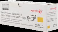 Xerox Toner gelb 106R02758 ~1000 Seiten Standardkapazität