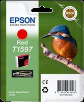 Epson Tintenpatrone rot C13T15974010 T1597 17ml