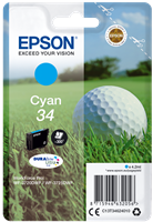 Epson Tintenpatrone Cyan C13T34624010 T3462 ~300 Seiten 4.2ml 34