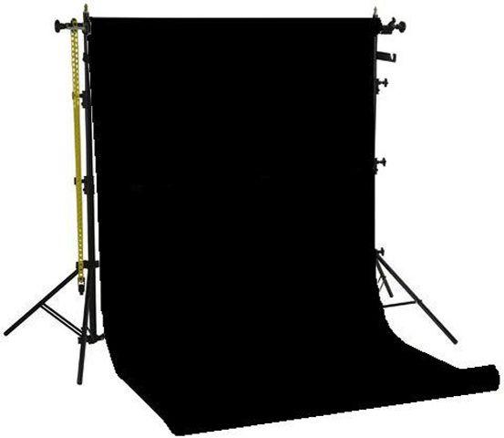 Miglior prezzo Falcon Eyes Background System SPK-1Z with 1 Roll Black 1.35x11 m -