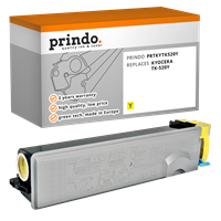 Prindo Toner gelb PRTKYTK520Y ~4000 Seiten kompatibel mit Kyocera TK-520y (1T02HJAEU0)